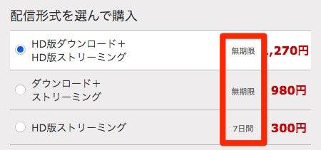FANZA動画視聴期限